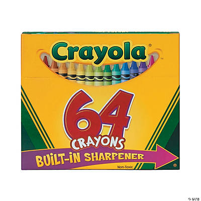 64-Color Crayola® 64 Pc. Crayons