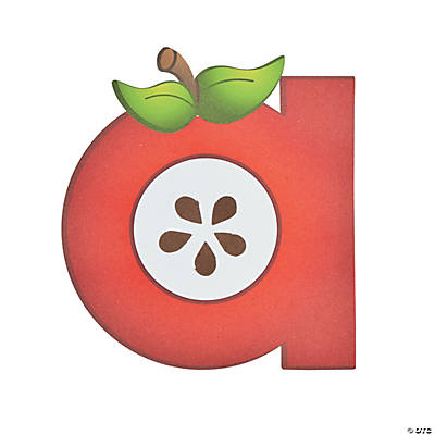 """A Is For Apple"" Lowercase Letter A Craft Kit"