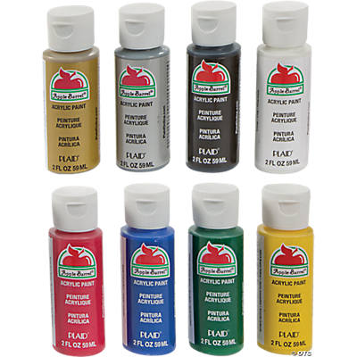 Acrylic Paint Set - Primary Colors