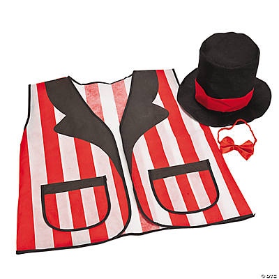Adult Carnival Hat & Vest Set
