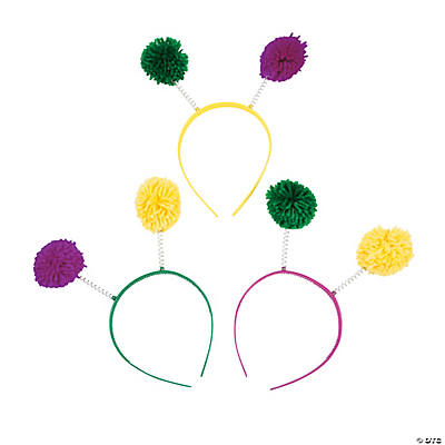Adult Mardi Gras Head Boppers
