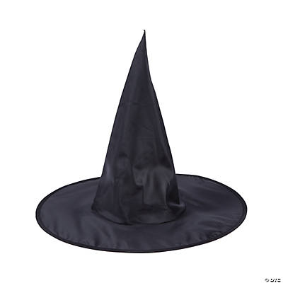 Adult's Classic Black Witch Hat