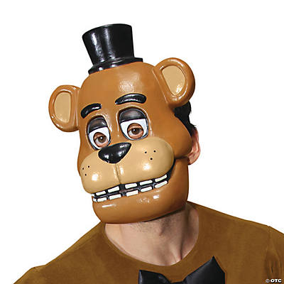 Adult's 1/2 Freddy Mask