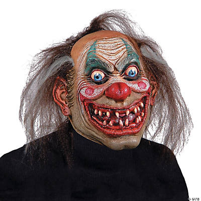 Adult's Carnival Drifter Clown Mask