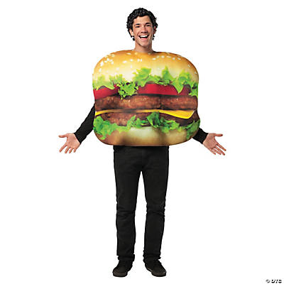 Adult's Cheeseburger Costume