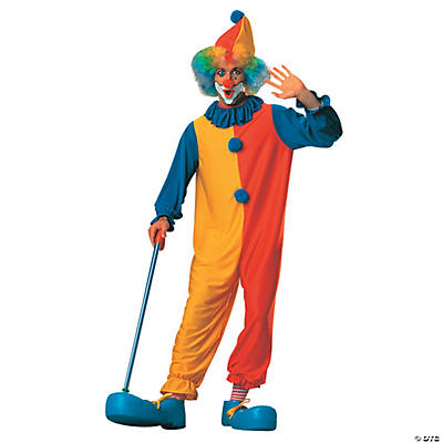 Adult's Clown Costume