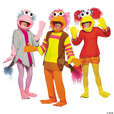 adults fraggle rock group costumes - Fraggle Rock Halloween Costumes