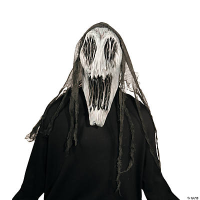 Adult's Gaping Wraith Halloween Mask