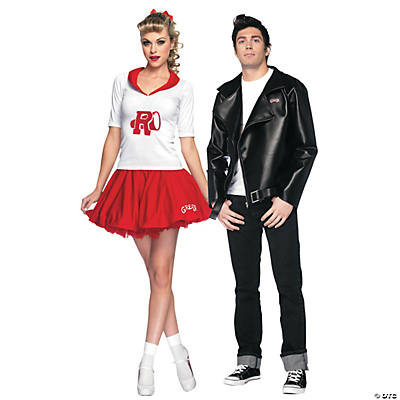 Adultu0027s Grease Couples Costumes  sc 1 st  Oriental Trading & Best Couples Halloween Costumes   Oriental Trading Company