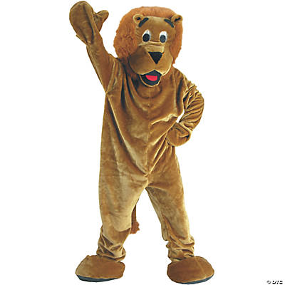 Adult's Lion Mascot Costume
