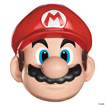Adult's Mario Mask