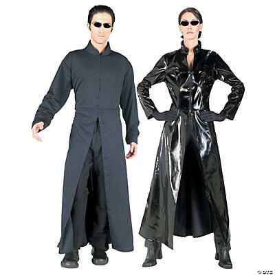adultu0027s matrix couples costumes