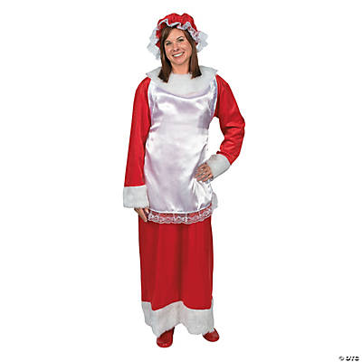 Adult's Mrs. Claus Costume