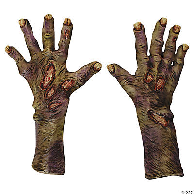Adult's Zombie Rotted Hands - Large