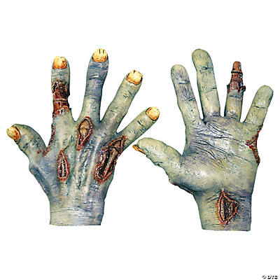 Adult's Zombie Undead Hands