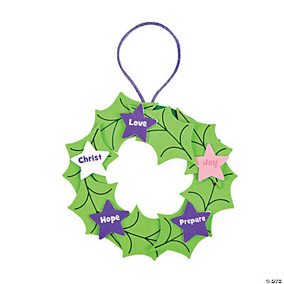 Advent Christmas Ornament Craft Kit