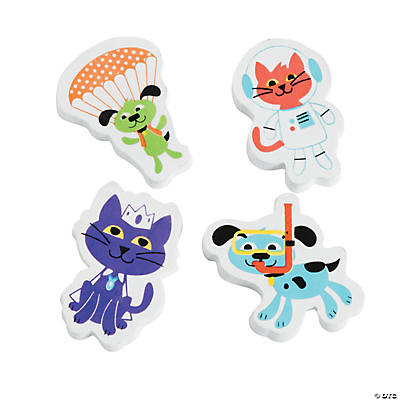 Adventure Pet Erasers
