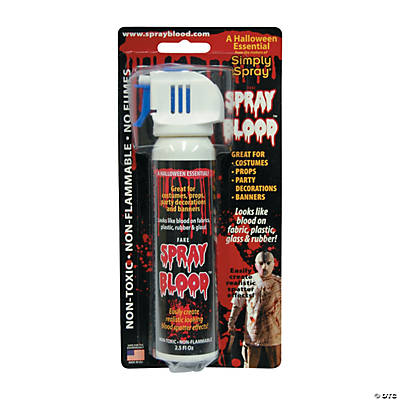 Aerosol Spray Blood