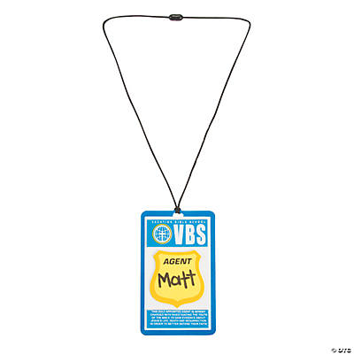 Agents of Truth VBS Nametag Holder Craft Kit