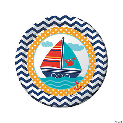 Ahoy Matey Paper Dinner Plates
