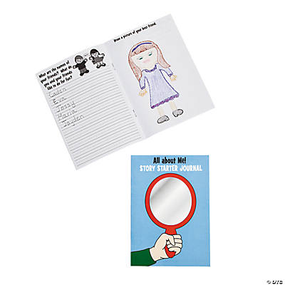 """All About Me!"" Story Starter Journals"