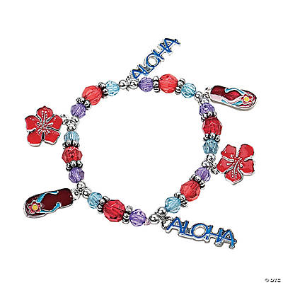 """Aloha"" Charm Bracelet Craft Kit"