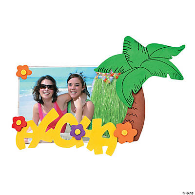 """Aloha"" Picture Frame Magnet Craft Kit"