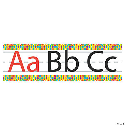 Alphabet Border Set