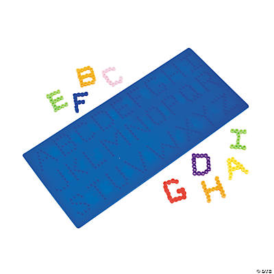 Alphabet Fuse Bead Boards