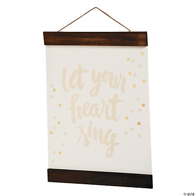 American Crafts™ Let Your Heart Sing Watercolor Panel