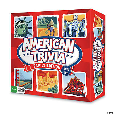 American Trivia Board Game: Family Edition