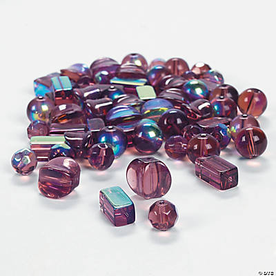 Amethyst AB Finish Bead Assortment - 8mm-12mm