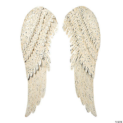 Angel wings wall d cor oriental trading for Angel wings wall decoration