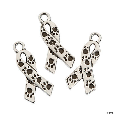Animal Abuse Awareness Ribbon Charms