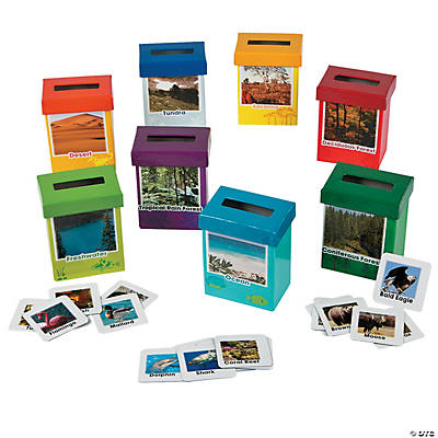 Animal Habitat Sorting Boxes
