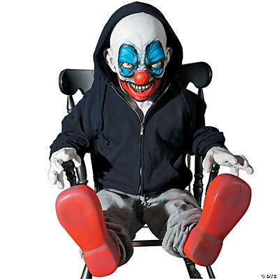 Animated Giggles Clown Latex Prop