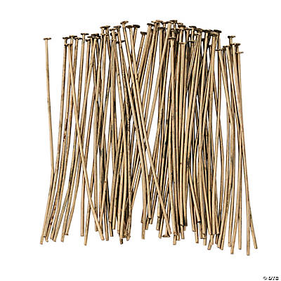 Antique Goldtone Headpins - 2""