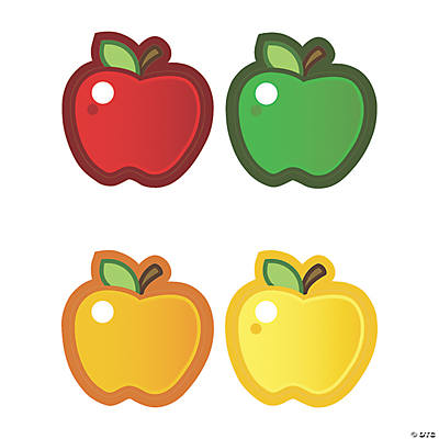 Apple Bulletin Board Cutouts