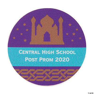 Arabian Night Personalized Stickers