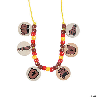 Armor of god necklace craft kit for Craft and jewelry supplies