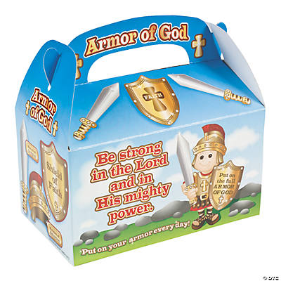 """Armor of God"" Treat Boxes"