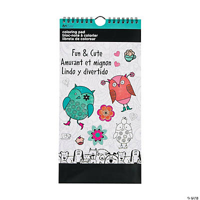 ArtZone™ Fun & Cute Coloring Pad
