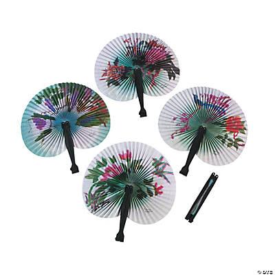 folding fan assortment
