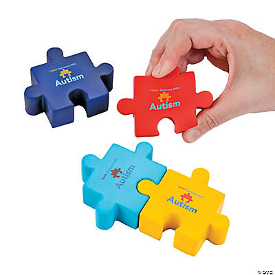 Autism Awareness Puzzle Stress Toys uBFNOMAC