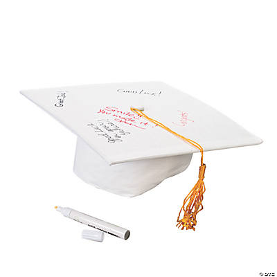 Autograph Mortar Board Hat