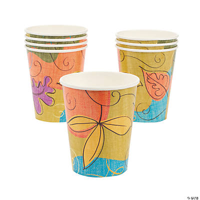 Autumn Leaves Cups