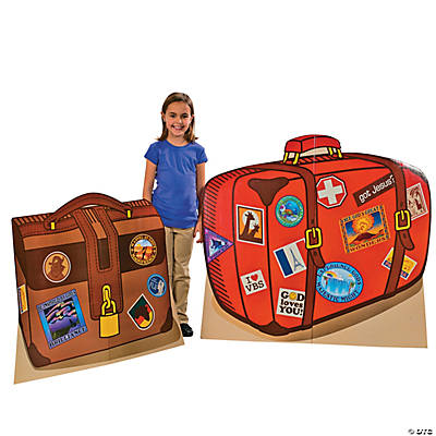 Awesome Adventure Luggage Stand-Up Set