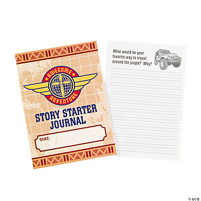 Awesome Adventure Religious Story Starter Journals