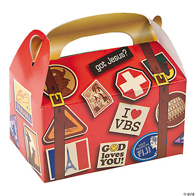 Awesome Adventure Treat Boxes