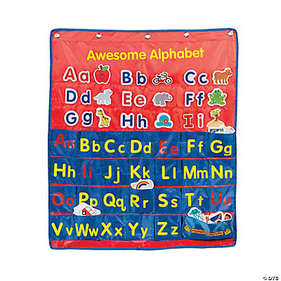 Awesome Alphabet Pocket Chart
